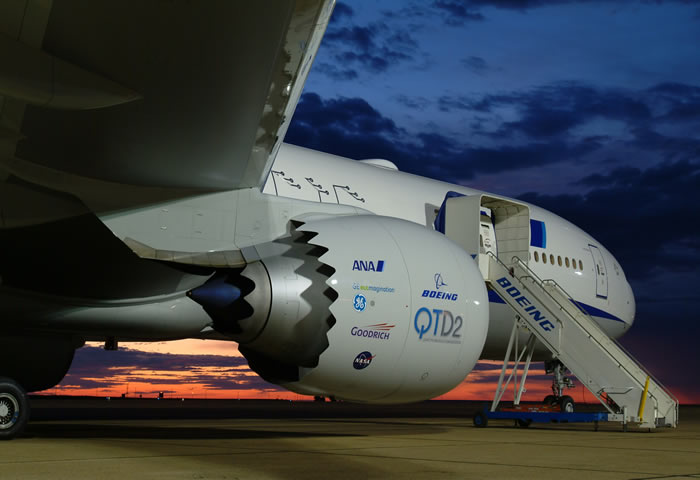 ge 787 aircraft engine test aircraft qtd2