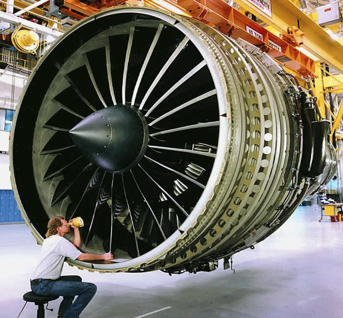 ge aircraft airliner engine