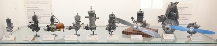 model aircraft engines