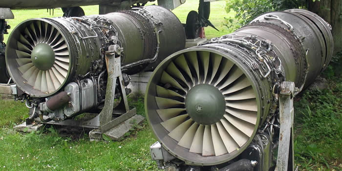 russian mig-21 aircraft engines