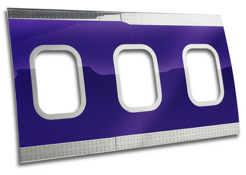aircraft furniture wall mounted fuselage panel