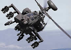 AH-64 Boeing Helicopter