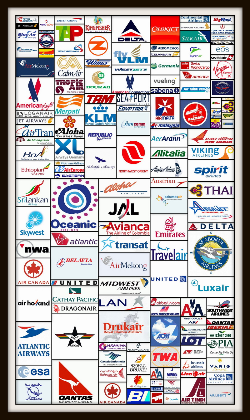 ALL AIRLINE LOGOS