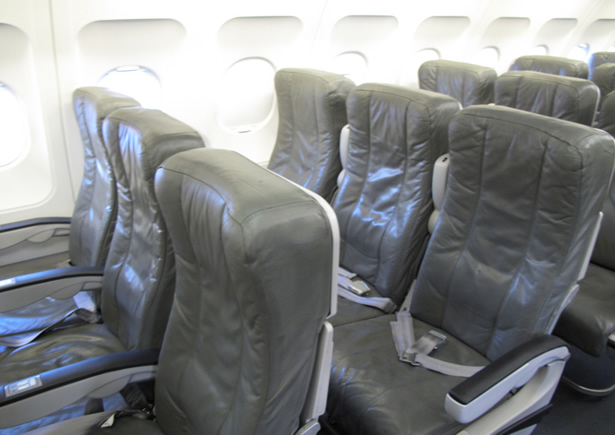 jetblue leather airline seats for total comfort