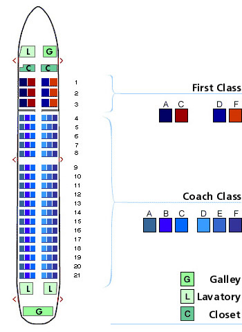 us airways airbus a319 seating map aircraft chart