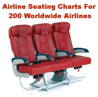 AIRLINE SEATING FOR 200 AIRLINES
