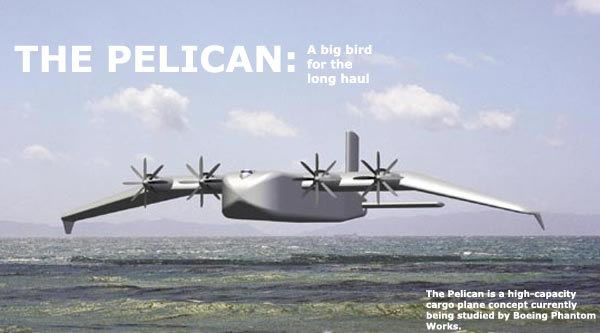 Boeing Pelican ULTRA (Ultra Large Transport Aircraft)