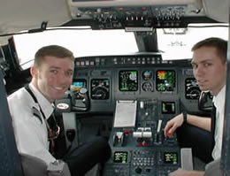 airline pilot jobs and training