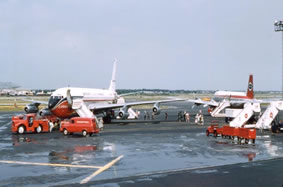 Braniff International 707's