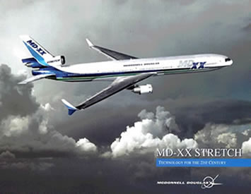 md-xx stretch airliner