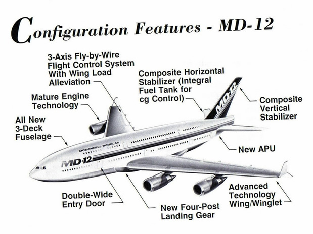 MD-12 Airliner Spec Config Sheet