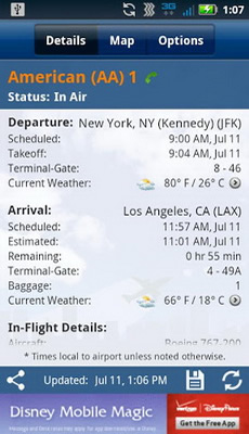flighttrack free android flight tracking app