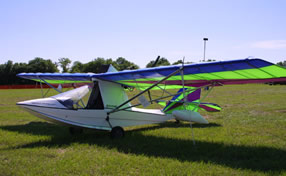 aventura ultralight aircraft