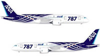 boeing 787 in ANA colors