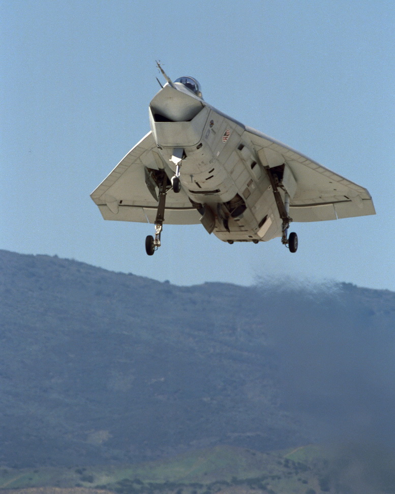 boeing x-32 vertical takeoff