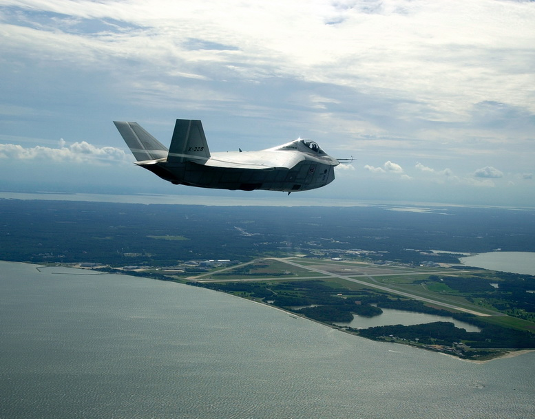boeing x-32 flight
