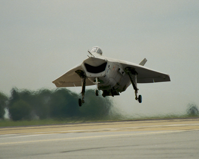 boeing x-32 flight test