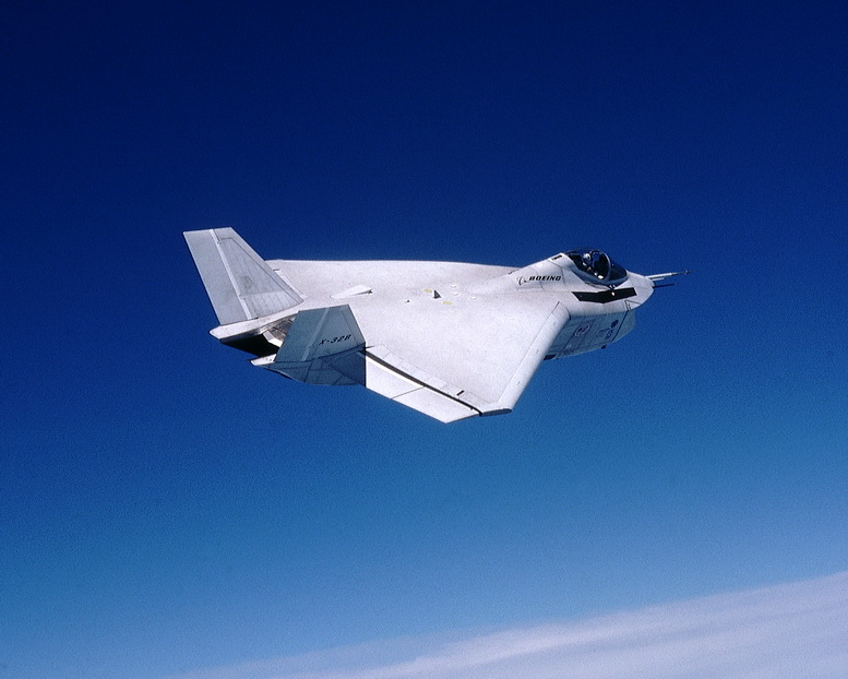 boeing x-32 flying