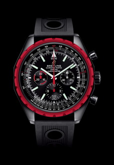 red dial breitling watch