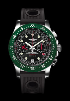 green breitling watch