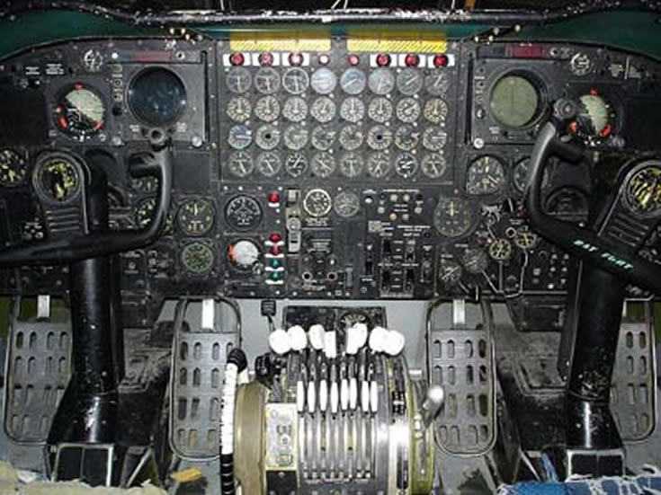 B-52 Stratofortress Cockpit Photo
