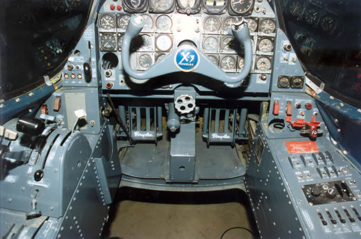 Douglas X-3 Cockpit Photo