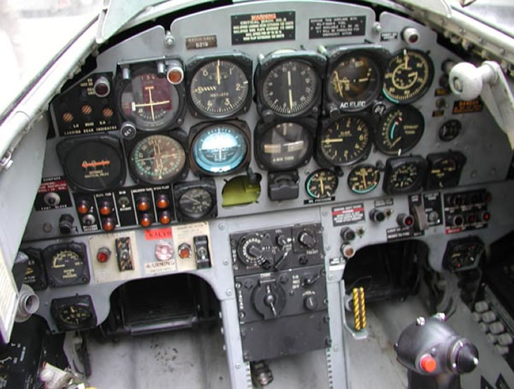 T-33 Aircraft Cockpit Photo