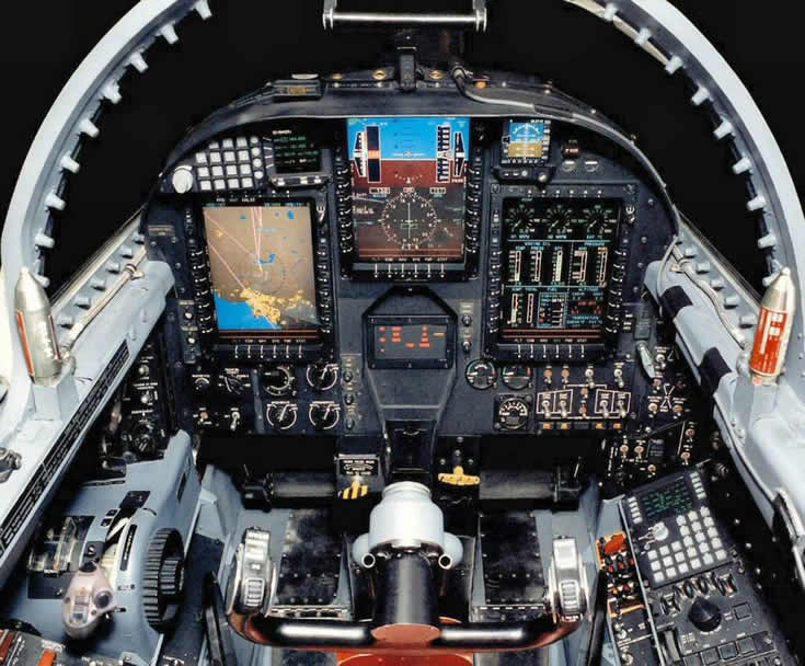 The U-2 Cockpit Photo