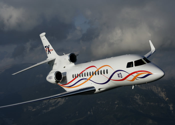 hawker fly-by-wire business jet
