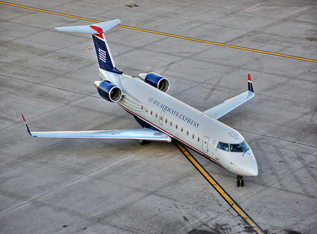 us airways express crj 100