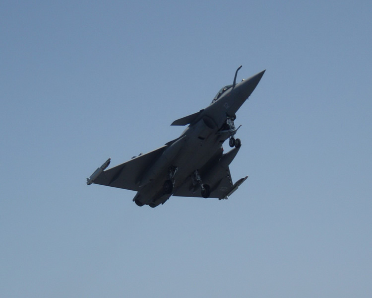 Dassault Rafale In Flight