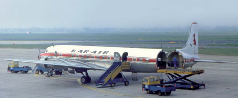 kar air dc-6a aircraft