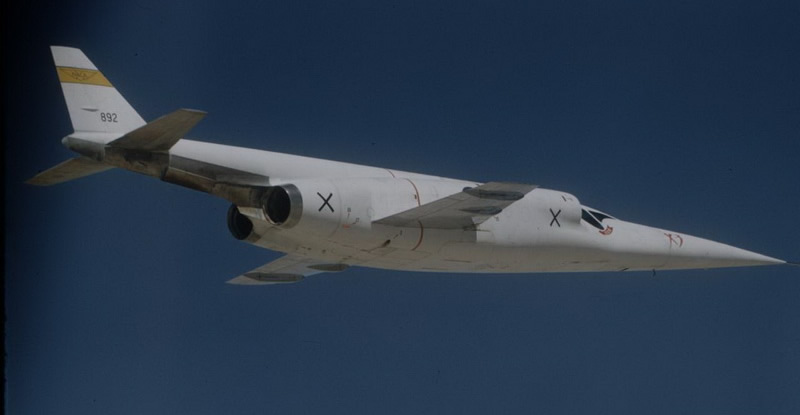 X-3 Stiletto Aircraft In Flight