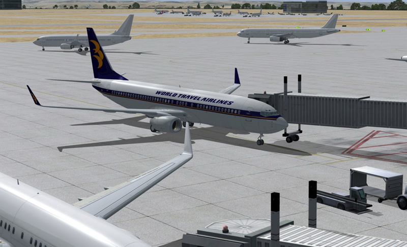 boeing 737 with winglets for fsx