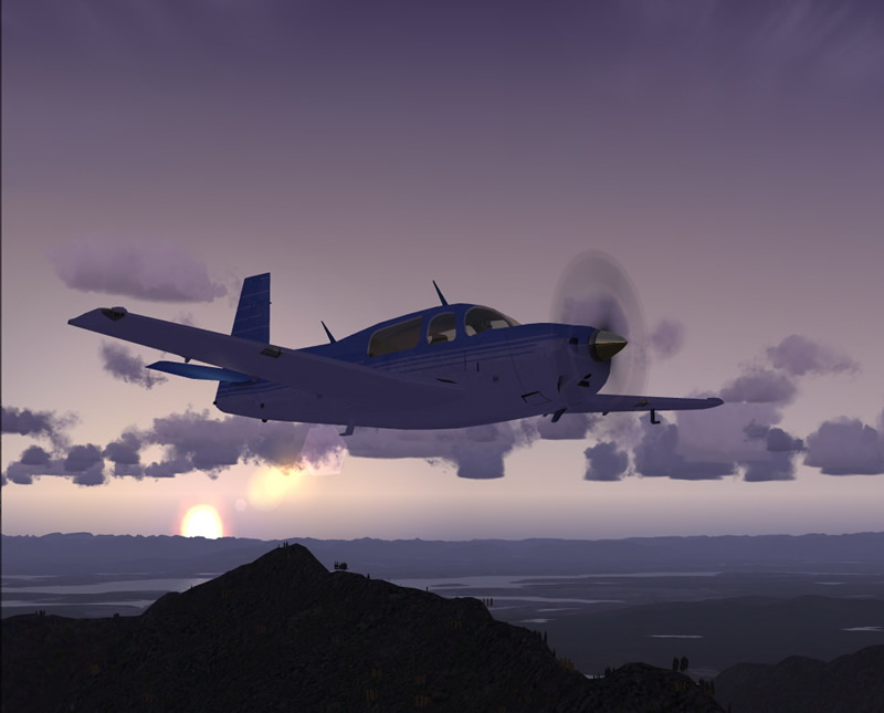 mooney airplane for fsx