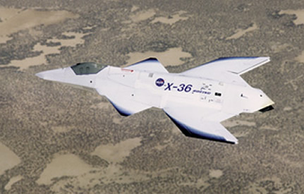 X-36 Tailless Agility Aircraft