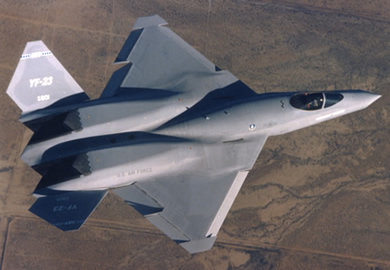US Air Force YF-23 Experimental Fighter Jet