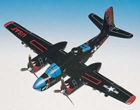 b26 invader aircraft replica
