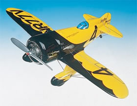 gee bee yellow model aircraft