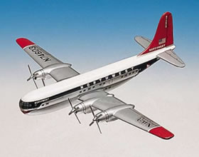 northwest airlines b377 aircraft replica model