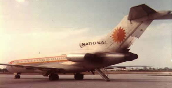 national airlines boeing 727