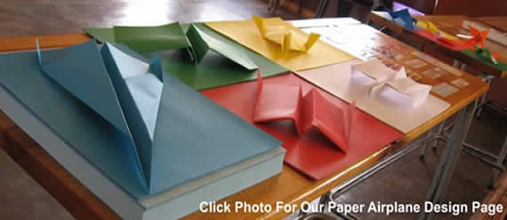learn how to fold and fly paper airplanes