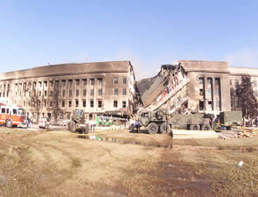 cleaning up the pentagon after 9/11 flight 77