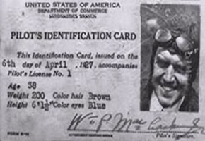 pilots identification card