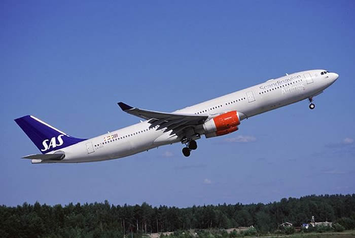 SAS airlines airbus A330