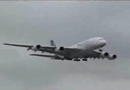 Airbus A380 Landing at LAX