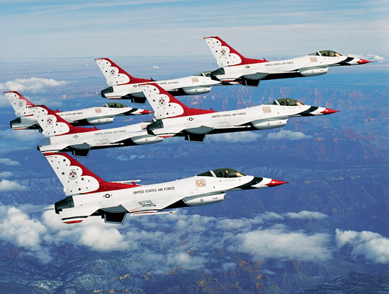 usaf thunderbirds photo