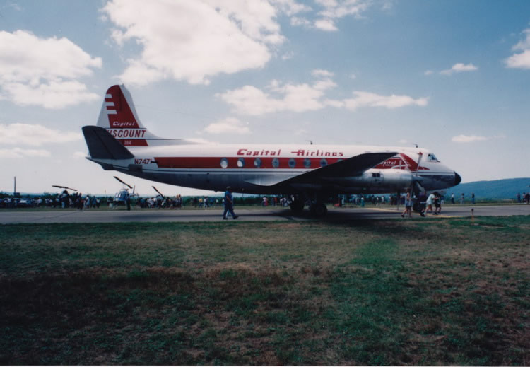 vickers viscount prop airliner aircraft