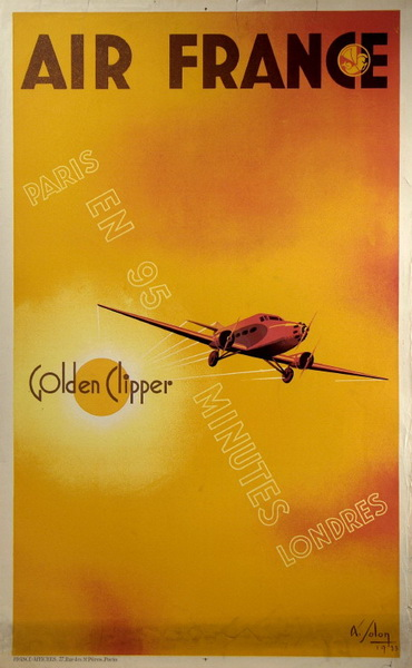 air france golden clipper