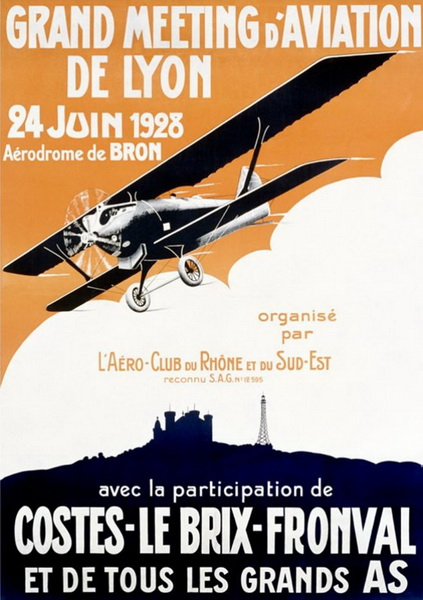 french flight poster